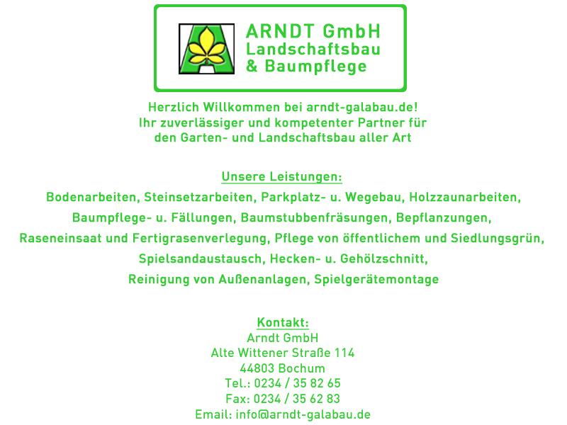Galabau Bochum impressum